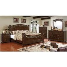 cherry wood 4 poster bedroom set