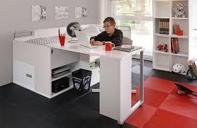 lit bureau pas cher adolescent pas cher avec rangements et bureau gautier modèle dimix