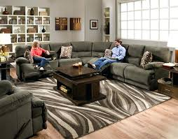3 pc power reclining sectional max chocolate reclining sectional