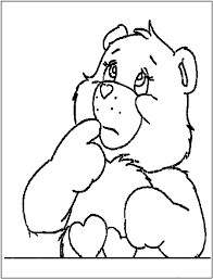 free printable bear coloring pages kids