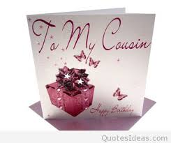 happy birthday cousin cards messages quotes images