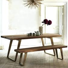 dining room tables with bench benches for dining room tables createfullcircle com