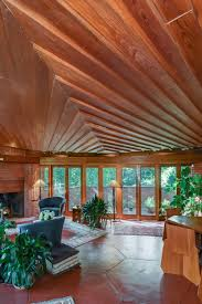 hexagonal frank lloyd wright u0027usonian u0027 house for sale for 995k in