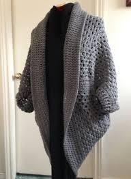 Cocoon Sweater Cardigan Crochet Granny Square Cocoon Sweater Cardigan Shrug In Antique