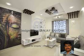 Flat Interior Design 2 Bhk Flat By Sanjay Navgire Interior Designer In Pune