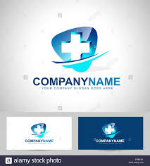 Medical Business Card Design Medical Design Concept Hospital Vector Icon With Business Card