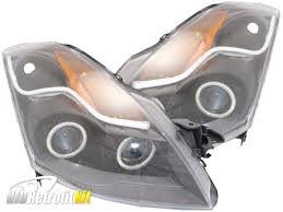 nissan altima 2016 headlights 2007 2009 nissan altima sedan hid bi xenon projector headlights