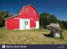red barn nashville indiana usa stock photo royalty free image