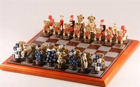 fantasy chess set teddy bear chess set chess house