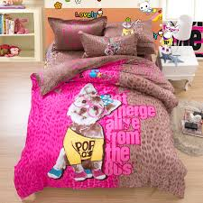 Girls Pink And Black Bedding by Compare Prices On Pink Leopard Bedding Online Shopping Buy Low