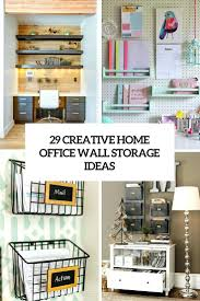 office design 29 creative home office wall storage ideas ikea