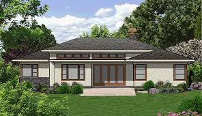 prairie style ranch homes plan w69495am efficiency at its best e architectural design