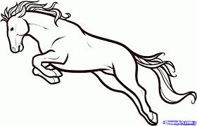horse cartoon drawing free download clip art free clip art