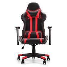 amazon com happybuy racing gaming chair pu leather ergonomic