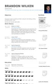 editor in chief resume samples visualcv resume samples database