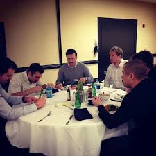some of the guys thanksgiving dinner in fl pittsburgh