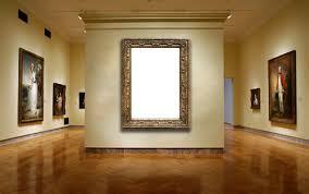 dipingere cornici cornici foto dipingere nel museo