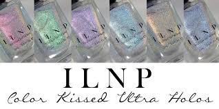 colors spring 2017 ilnp spring 2017 color kissed ultra holos glitterfingersss