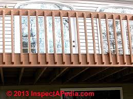 Building A Banister Railing Deck Guardrail Or Stair Railing Baluster Installation Procedure