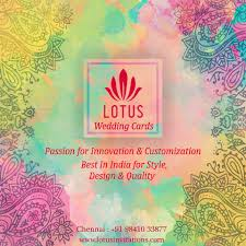 Wedding Invitation Cards Chennai Lotus Cards Wedding Invitations Chennai Indian Wedding