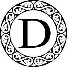 file letter d monogram png wikimedia commons