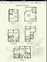 floor plan from the courtyard at jamestown seniors pinterest