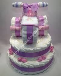 How To Make A Tricycle Diaper Cake This Is So Cute Homemade