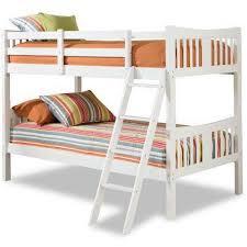 Storkcraft Caribou Solid Hardwood Twin Over Twin Wood Bunk Bed - Solid wood bunk beds