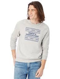 hanukkah apparel lyst alternative apparel ch hanukkah eco fleece sweatshirt in