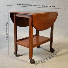 antique oak serving side table tea trolley butler antique trolleys