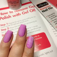 the polish list elliona gel off gel polish removal product