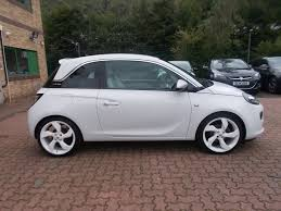 used vauxhall adam 1 4 white edition white 1 4 hatchback