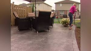 Best Sealer For Stamped Concrete Patio by Weather Shield Wet Look And Low Gloss Sealers Youtube