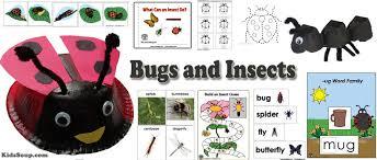 bugs and garden critters preschool activities and crafts kidssoup