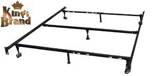 Metal Bed Frames Queen Amazon Com Heavy Duty 7 Leg Adjustable Metal Queen Full Full Xl