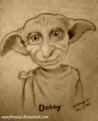 draw dobby harry potter step step characters pop
