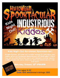 kiddos halloween spooktacular coming up and happy birthday