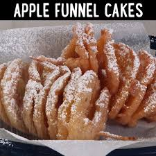 how to make apple funnel cakes video myrecipes