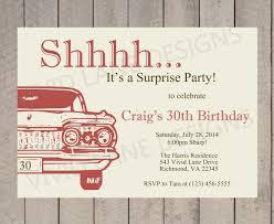 birthday invitation man u0027s birthday invitation