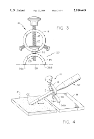 patent us5810649 tool guide for sharpening woodcarving and tools