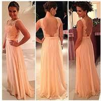 peach bridesmaid dresses peach wedding party dresses dhgate