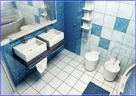 Blue Glass Tile Bathroom - blue glass tile is good for any room