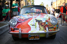 porsche 356c janis joplin u0027s psychedelic porsche sells for 1 76 million fortune