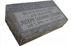 grave markers for sale pillow bevel markers with hebrew lettering for sale