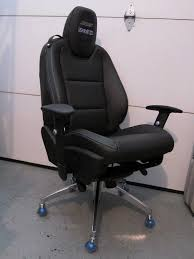 your own camaro this racechairs office chair is made with a seat taken from a