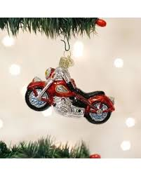collection motorcycle tree ornaments pictures