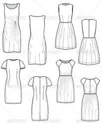 women u0027s cocktail skirts pack fashion flat template fashion flats