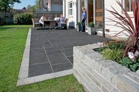 Patio Edging Stones by Fairstone Limestone Aluri Riven Garden Paving Marshalls Co Uk