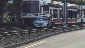 one dead after car crashes into max train katu