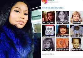 Nicki Minaj Meme - racist af lgbt magazine compares nicki minaj to monkey in meme bossip